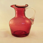 Cranberry Pitcher