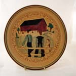 Red Barn Plate