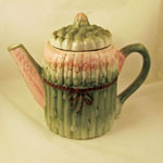 Green and Pink Teapot
